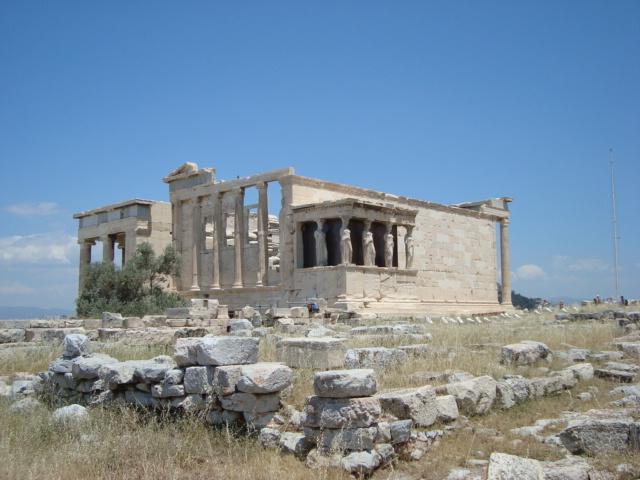 Auf der Akropolis von Athen - Erechtheion