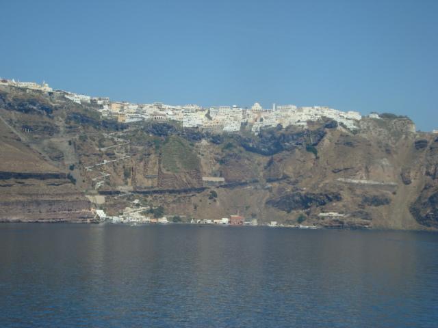 Fährfahrt nach Santorin