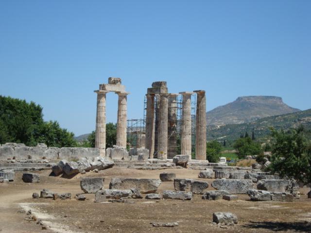 Zeus-Tempel von Nemea