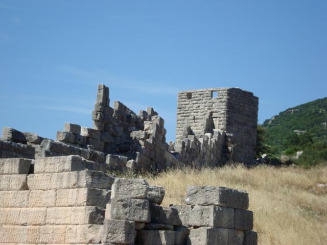 Die Stadtmauern von Messene