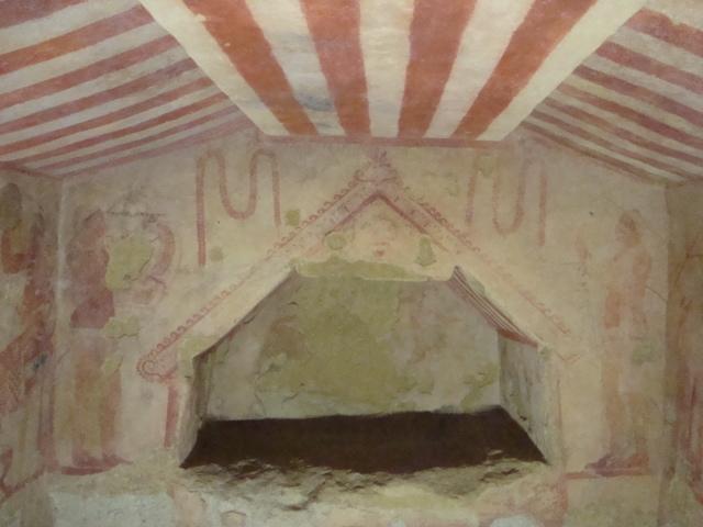 ...und nochmal Fresken aus Tarquinia
