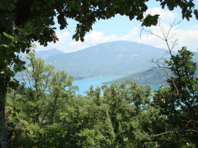 Am Lac de Ste-Croix