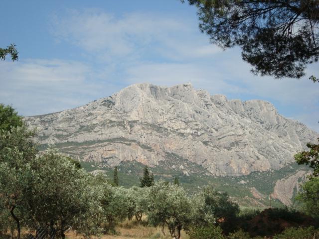 Mont-Ste-Victoire - Cezannes Lieblingsmotiv