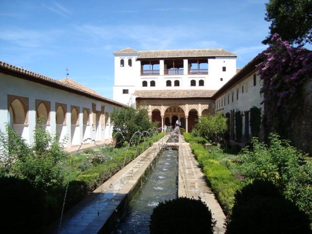 Granada - Gartenanlage in der Alhambra