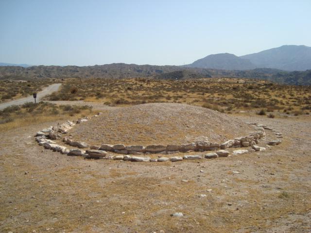 Los Millares - Grabhügel in der Siedlung