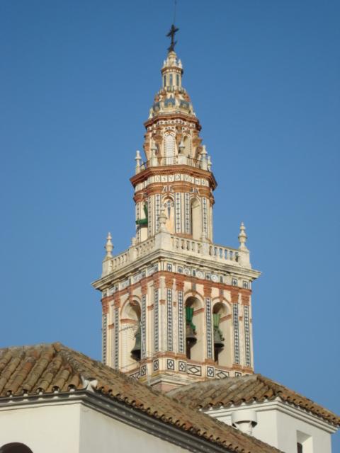 Kirchturm in Ecija