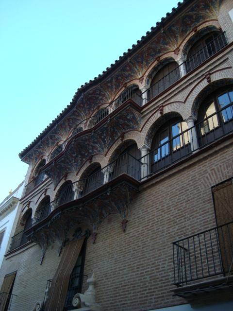 Ecija - Fassade eines Barockpalast