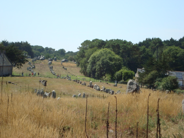 noch mehr Steinreihen (Carnac)