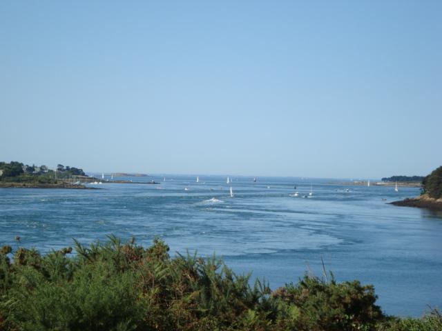 Golf von Morbihan - von Gavrinis aus gesehen