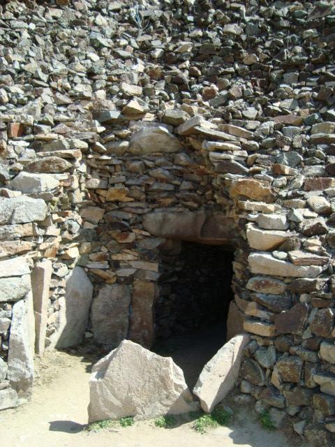 Grabkammer mit falscher Gewölbetechnik