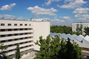 Saniertes Studentenwohnheim auf der ul. Ordžonikidze