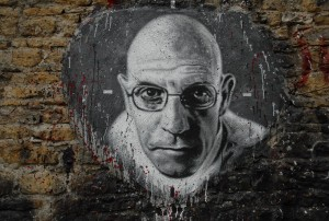 Michel Focault Mural, photo by thierry ehrmann [CC BY 2.0 ]