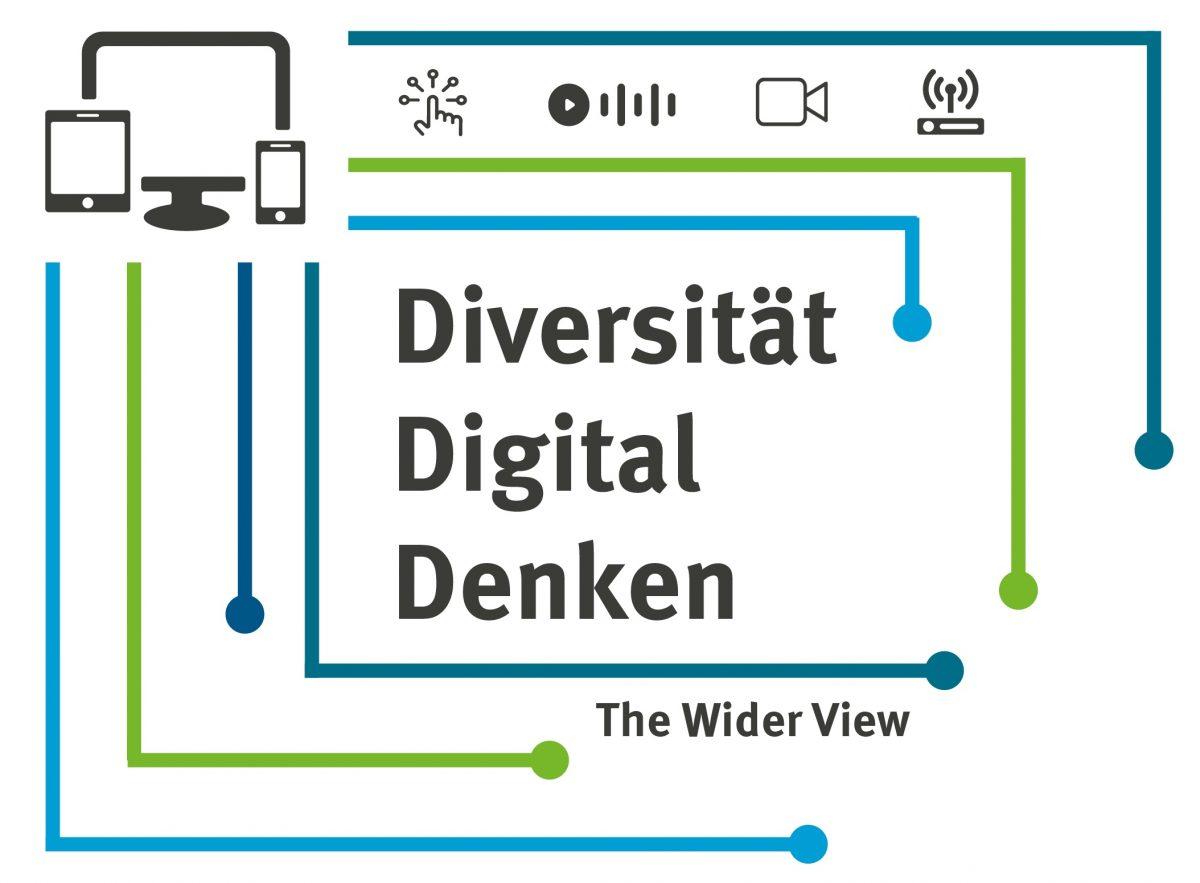 """Online-Tagung """"Diversität Digital Denken – The Wider View"""" des Zentrums für Lehrerbildung der WWU Münster vom 8.-10.9.21"""