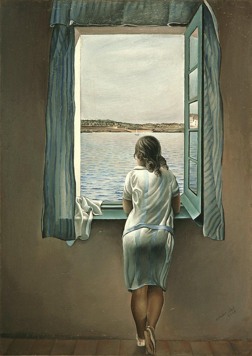 Noia a la finestra (Salvador Dalí)